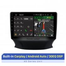 Tela de toque de 9 polegadas para rádio de carro multimídia Changan CS35 2017 com Carplay sem fio integrado / Android Auto Suporte para navegação GPS câmera AHD
