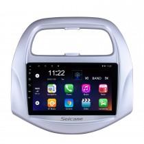 2018 Chevy Chevrolet SPARK Android 10.0 HD Touchscreen de 9 polegadas Buetooth GPS Navi Unidade de rádio automática com AUX WIFI Controle de volante Suporte de CPU Câmera de visão traseira DVR OBD