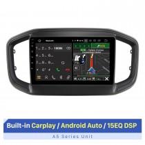 """Tela sensível ao toque HD de 9 """"para 2021 Fiat Strada Unidade principal Reparo de rádio de carro Estéreo de suporte de player de 2,5 D IPS tela sensível ao toque"""