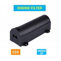 Auto Car Engine Cover Air Intake system Engine Filter