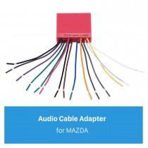 Adaptador do harness da fiação do som do cabo audio para a família de MAZDA (OLD) / Mazda 6 / Mazda 3 / MAZDA PREMACY (OLD) / Mazda 323