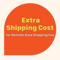 Custo de transporte extra para a taxa de remessa área remota