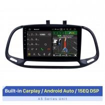 Tela sensível ao toque HD de 9 polegadas para Fiat DOBlO estéreo de carro GPS de navegação estéreo Carplay Sistema estéreo de carro DVD Player com suporte para atualização de câmera AHD