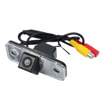 High Quality LED Backup Camera For 2006-2013 Hyundai Santafe Waterproof and Night Vision with easy installation