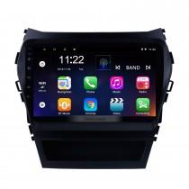 9 polegada Android 10.0 Carro Multimredia Player HD Touchscreen Rádio Navegação GPS Para 2013-2017 Hyundai IX45 sintonizador de TV SantaFe SWC Bluetooth WIFI OBD