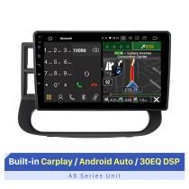 Tela sensível ao toque HD de 9 polegadas para JINBEI HAISE LHD 2008-2018 Sistema de navegação GPS DVD Player para carro com câmera AHD de suporte de navegação de reposição Bluetooth