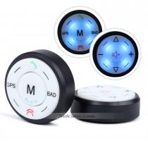 Multifuncional controlador volante sem fio universal para sistema de navegação GPS do carro DVD player