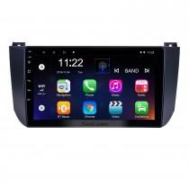 HD Touchscreen de 9 polegadas para 2009 2010 2011 2012 Changan Alsvin V5 Radio Android 10.0 Sistema de Navegação GPS com suporte Bluetooth Carplay DAB +