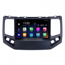 HD Touchscreen de 9 polegadas para 2009 2010 Geely King Kong Radio Android 10.0 Sistema de Navegação GPS com suporte Bluetooth Carplay DAB +