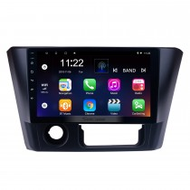 2014 2015 2016 Mitsubishi Lancer Android 10.0 auto estéreo de 9 polegadas HD Touch Screen unidade de cabeça de rádio com GPS navegação WiFi FM Bluetooth música USB suporte espelho Link Backup Camera controle de volante TPMS DVR