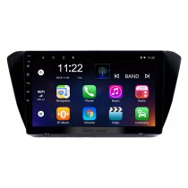 10.1 polegada android 10.0 gps rádio de navegação para 2015-2018 skoda soberba com hd touchscreen bluetooth usb aux suporte carplay tpms