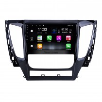 9 polegada Android 10.0 para 2015 2016 2017 Mitsubishi Pajero Sport Radio Sistema de Navegação GPS Com HD Touchscreen Suporte Bluetooth Carplay DVR