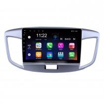 2015 Suzuki Wagon Android 10.0 HD tela sensível ao toque de 9 polegadas unidade de cabeça Bluetooth rádio de navegação GPS com AUX apoio OBD2 SWC Carplay