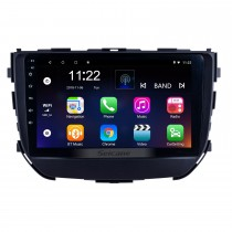 Android 10.0 2016 2017 2018 Suzuki BREZZA 9 polegada GPS Navi Multimedia Player com 1024 * 600 Tela Sensível Ao Toque Bluetooth FM Música Wi-fi suporte USB SWC OBD2 TPMS 3G