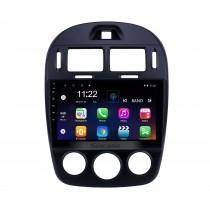 10.1 polegada hd touchscreen android 10.0 gps rádio de navegação para 2017-2019 kia cerato manual a / c com bluetooth apoio aux carplay controle de volante