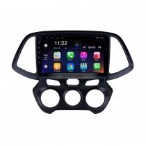 9 avançam o rádio da navegação de Android 10.0 GPS para 2018 Hyundai Santro / Atos com controle do volante do Carplay do apoio de Bluetooth do écran sensível de HD
