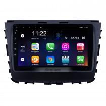 2018 ssang yong rexton 9 polegada android 10.0 hd touchscreen bluetooth suporte de navegação de rádio usb aux suporte carplay wi-fi câmera de backup