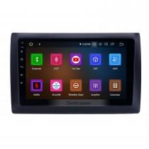 Android 10.0 Rádio de navegação GPS de 9 polegadas para 2010 Fiat Stilo com HD Touchscreen Carplay Suporte para espelho Bluetooth Link TPMS TV digital