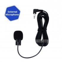 Microfone universal para carro Microfone externo portátil alto-falante profissional para rádio automotivo DVD player para carro 3,5 mm 50 Hz-20 kHz