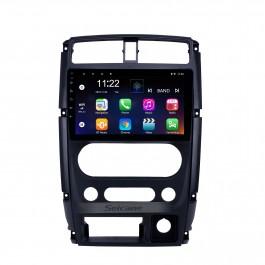 Android 10.0 9-дюймовый HD сенсорный экран GPS-навигатор для 2007-2012 Suzuki Jimny с поддержкой Bluetooth WIFI USB AUX Carplay DVR SWC