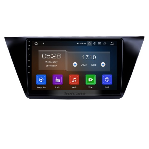 10,1 дюймов 2016-2018 VW Volkswagen Touran Android 9.0 GPS-навигация Радио Bluetooth HD с сенсорным экраном AUX USB Carplay поддержка Mirror Link