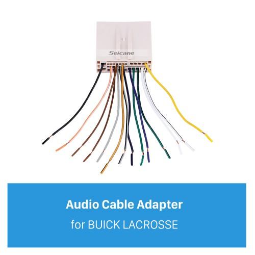 Адаптер жгута проводов автомобильного аудио кабеля для BUICK LACROSSE