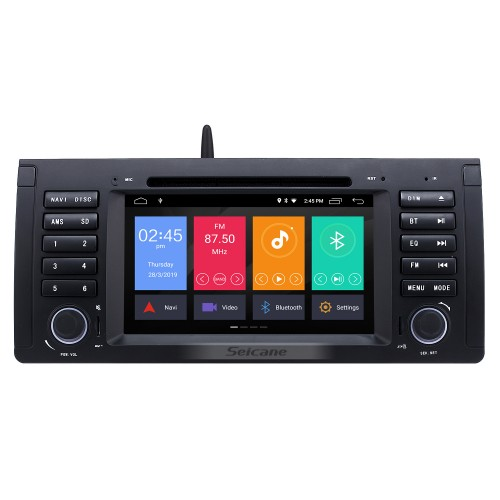 Car DVD player for BMW X5 E53 with gps radio tv bluetooth-1