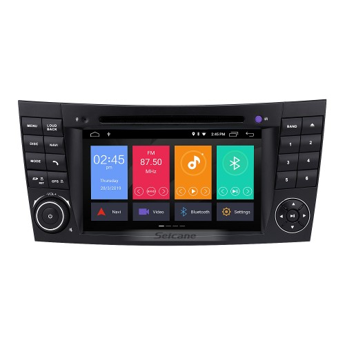 Android 7 Inch Car DVD Player for Mercedes-Benz CLS W219(Touchscreen,GPS,TV,Ipod, 3G,Wifi)-2