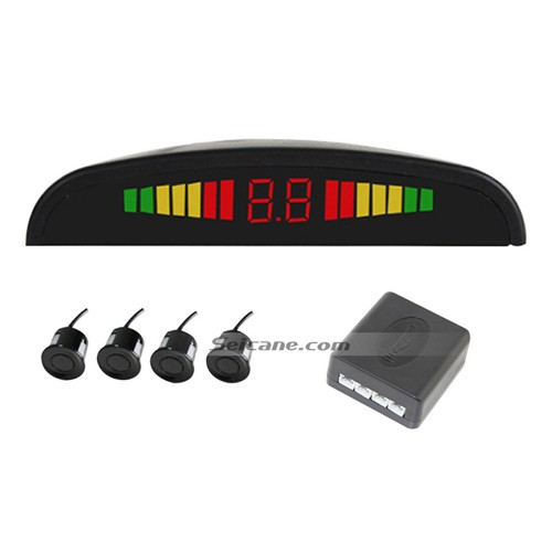 Wireless LED Display Parking Sensor Sensors Auto Car Reverse Assistance Backup Radar Monitor System rader + 4 Free Shipping