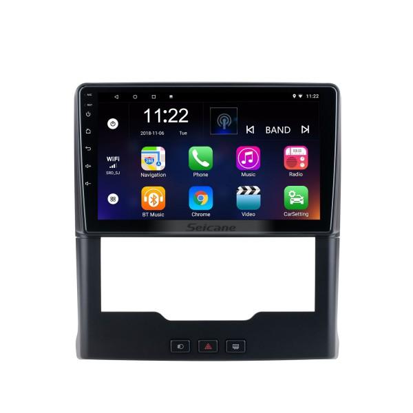 Android 10.0 HD с сенсорным экраном 9 дюймов для 2019 Sepah Pride Auto A / C Radio GPS-навигационная система с поддержкой Bluetooth Carplay Задняя камера