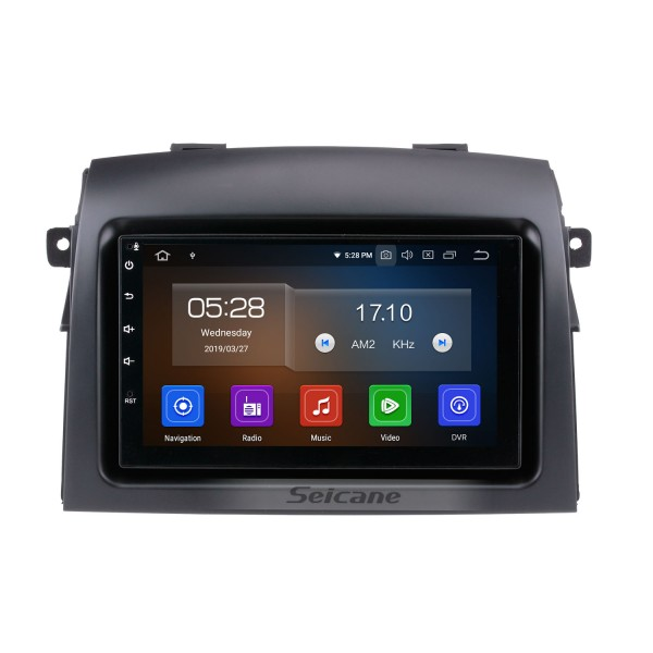 Система Android 9.0 2004-2010 Toyota Sienna радио GPS навигации с сенсорным экраном HD Bluetooth 3G WIFI резервная камера Управление рулевого колеса