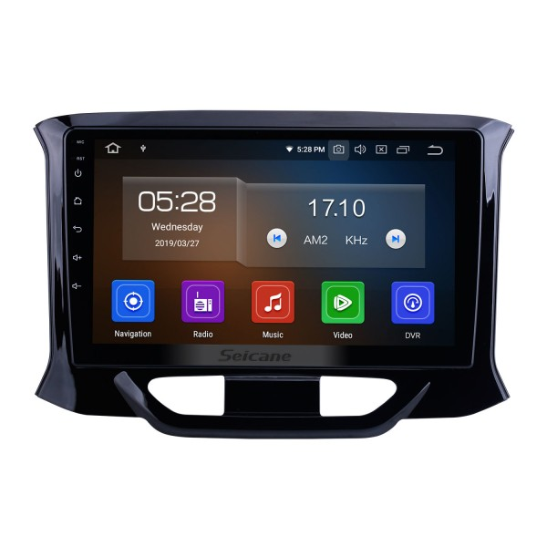 9-дюймовый Android 10.0 для 2015-2018 2019 Lada Xray Radio GPS навигационная система с сенсорным экраном HD Bluetooth Поддержка Carplay OBD2 DVR