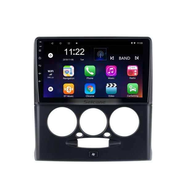 9-дюймовый Android 10.0 для 2015-2018 Sepah Pride Manual A / C Radio GPS-навигационная система с сенсорным экраном HD Поддержка Bluetooth Carplay OBD2