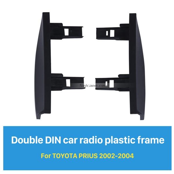 Optimal Double Din 2002 2003 2004 Toyota Prius RHD Автомобильная радиостанция Комплект панели для установки на панель для компакт-дисков