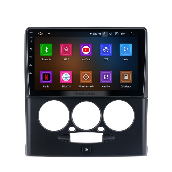 Android 10.0 HD с сенсорным экраном 9 дюймов для 2015-2018 Sepah Pride car Radio с Bluetooth GPS-навигационной системой Carplay ручной кондиционер