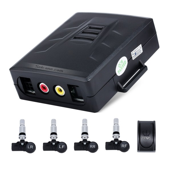 New TPMS Tire Pressure Monitoring System for Android Car DVD player with 4 external Sensors LCD display