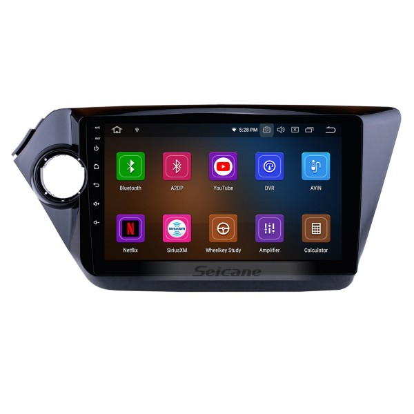 10.2 Inch Aftermarket Android 4.2 Radio GPS Navigation system For 2011 2012 KIA K2 RIO with Capacitive Touch Screen TPMS DVR OBD II Headrest Monitor Control USB SD Bluetooth 3G WiFi Video AUX Rear camera