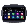2016 Jeep Renegade 9-дюймовый сенсорный экран Android 10.0 Радио GPS навигационная система с USB Bluetooth WIFI 1080 P Aux Mirror Link Управление рулевого колеса
