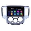 9-дюймовый Android 10.0 HD 1024 * 600 с сенсорным экраном Радио для 2009-2016 NISSAN NV200 GPS-навигатор Автомобильная стереосистема Поддержка Bluetooth Mirror Link OBD2 AUX 3G WiFi DVR 1080P Управление видео на рулевом колесе