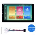 Car Radio Stereo Upgrade Power Cables For Toyota For Model H203G H204G