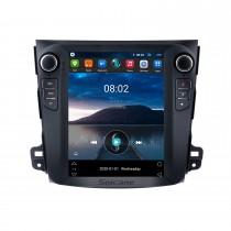 9,7 дюймов 2008 MITSUBISHI OUTLANDER Android 10.0 Радио GPS-навигационная система с 4G WiFi сенсорным экраном TPMS DVR OBD II Задняя камера AUX Управление рулевым колесом USB SD Bluetooth HD 1080P Видео