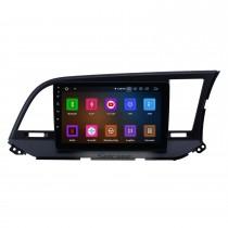 2015-2016 Hyundai Elantra RHD Android 11.0 9-дюймовый GPS-навигация Радио Bluetooth HD с сенсорным экраном WIFI USB Поддержка Carplay Резервная камера