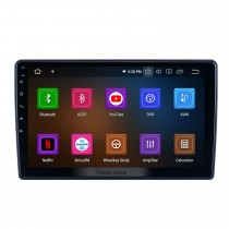 10,1-дюймовый Android 10,0 для 2012 Honda Brio Radio GPS навигационная система с сенсорным экраном HD Bluetooth Поддержка Carplay OBD2