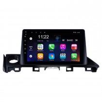 9-дюймовый сенсорный экран HD 2017 Mazda ATENZA Android 10.0 Радио GPS-навигационная система с Bluetooth USB 3G WIFI OBD2 Mirror Link Камера заднего вида