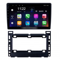 10,1-дюймовый Android 8.1 GPS-навигация Радио для 2005-2010 Chevy Chevrolet / Pontiac / Saturn с поддержкой HD сенсорного экрана Bluetooth Carplay