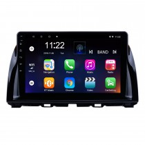 10.1 дюймовый сенсорный экран с сенсорным экраном 1024x600 Android 10.0 для 2012-2015 Mazda CX-5 с GPS-навигацией Аудиосистема Bluetooth 3G WIFI USB DVR Зеркало Ссылка 1080P Видео