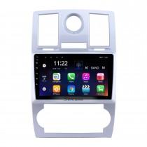 OEM HD Радио с сенсорным экраном для 2004-2008 Chrysler Aspen 300C 9-дюймовый Android 10.0 Автомобильный стерео USB Bluetooth AUX Поддержка Carplay DVR TPMS Резервная камера OBD