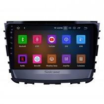 10,1-дюймовый 2019 Ssang Yong Rexton Android 11.0 GPS-навигация Радио Bluetooth HD с сенсорным экраном AUX USB WI-FI Поддержка Carplay OBD2 1080P