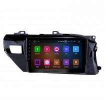 10,1 дюйма 2016-2018 Toyota Hilux RHD Android 11.0 GPS-навигация Радио Bluetooth HD с сенсорным экраном AUX Carplay Music поддержка 1080P видео цифрового ТВ