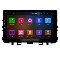 2017-2019 Kia Rio Android 11.0 9-дюймовый GPS-навигация Радио Bluetooth HD с сенсорным экраном USB Carplay Поддержка музыки TPMS Управление на руле DAB +